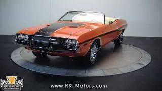 132121 / 1970 Dodge Challenger R/T Convertible