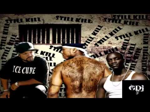50 Cent Ft Akon & Ice Cube - Still Will Kill Remix (new 2013) video