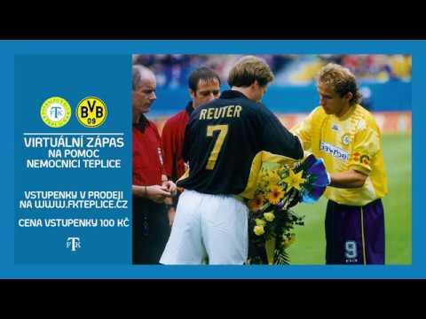 FK Teplice - Borussia Dortmund (Virtuální zápas / Virtuelle Spiel)