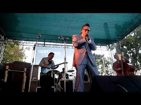 Rick Estrin at SJ Jazz Festival harmonica blowout 2011