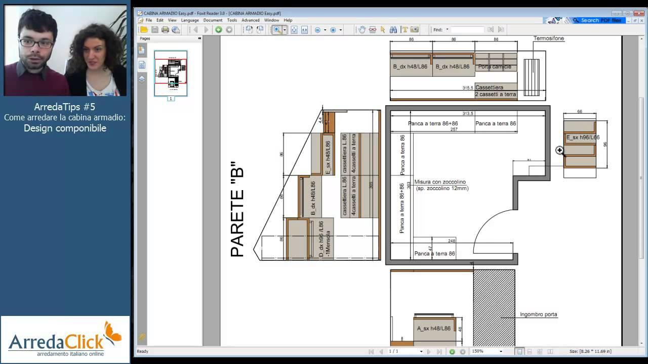Come arredare la cabina armadio design componibile for Costruendo una piccola cabina con soppalco
