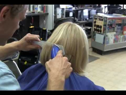 Long Blonde Hair Clipper Haircut Video Youtube