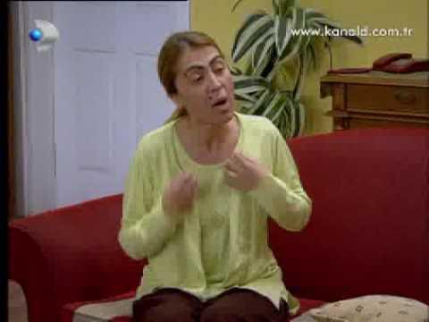 Comic video on Turkish TV (Haneler Dırdırhane)