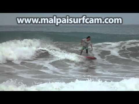 Santa Teresa, www malpaisurfcam com 07 07 15 Surfing Mal Pais Costa Rica