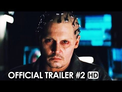 Transcendence Official Trailer #2 (2014) - Johnny Depp Movie