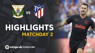 Highlights CD Leganes vs Atletico Madrid (0-1)