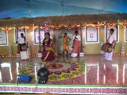Karakattam tamil folk dance - Indian Cultural Centre 9884436365