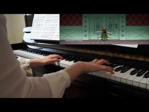 Disney's Frozen(겨울왕국) - Do You Want to Build a Snowman piano (by Crystal Lee)
