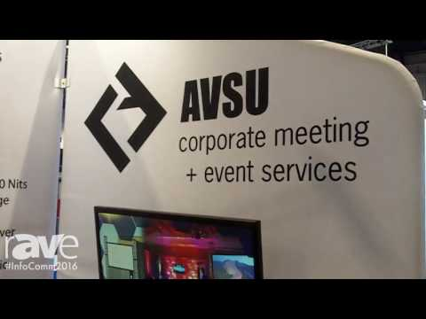 InfoComm 2016: AVSU Features HD Video Solutions for Corporate Clients and Visiting Producers