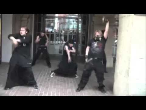 Goths Dancing To A$ap Ferg  shabba Ranks video