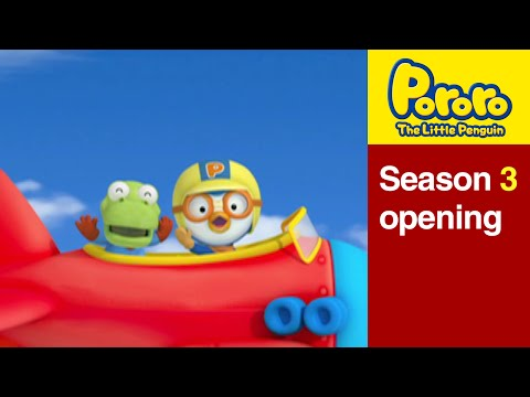 Pororo S3 opening Theme Song eng video