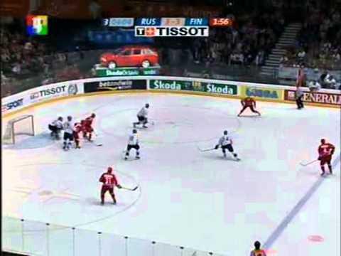 ЧМ по хоккею 2005, Иннсбрук, Вена, Россия - Финляндия