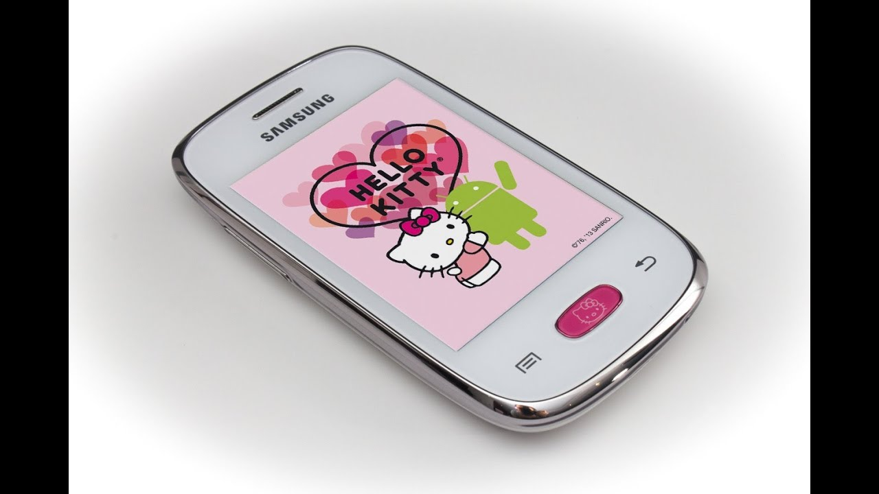 samsung galaxy pocket neo hello kitty   unboxing and