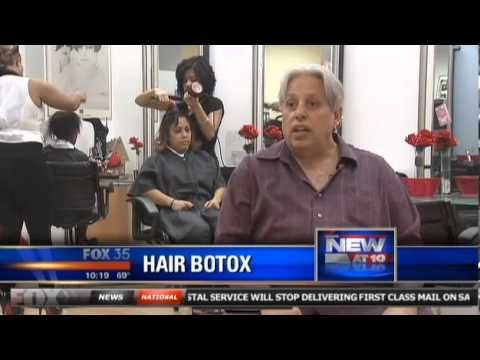 Central Florida ladies line up for 'hair botox' treatment RG-Cosmetics