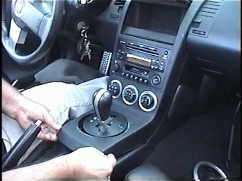 Nissan 350z on To Remove Radio   Stereo   Navigation From 2003 Nissan 350z For Repair