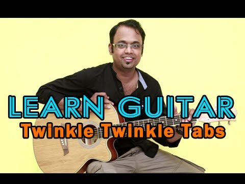 How to play Twinkle Twinkle Little Star - Guitar Lesson