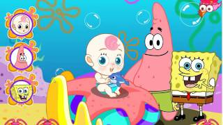 Kids games- Spongebob and Patrick Babysit-Dressup games