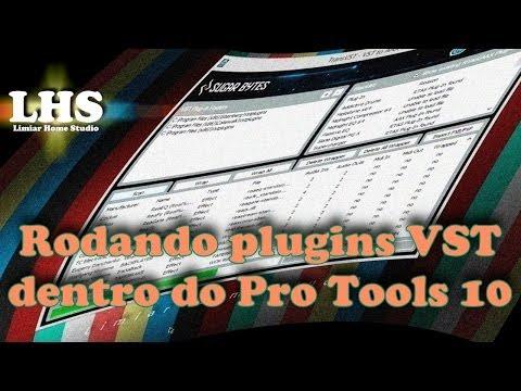 Rodando plugins VST dentro do Pro Tools 10