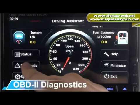 Reproductor coche DVD con GPS 2DIN   maquinariayocio