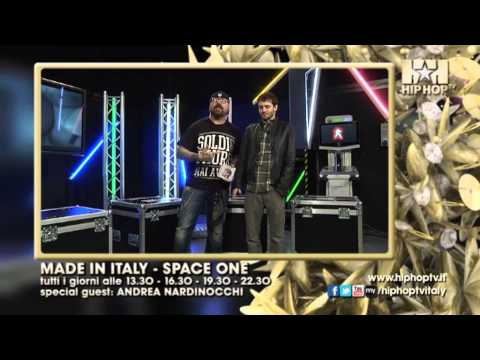 HIP HOP TV – MADE IN ITALY SPACE ONE feat. ANDREA NARDINOCCHI – Dal 15 al 21 Aprile