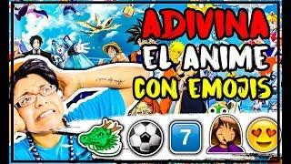 ADIVINA EL ANIME CON EMOJIS | Challenge Otaku