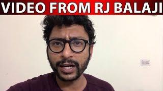 R J Balaji new video