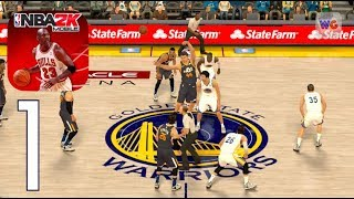 NBA 2K Mobile [iOS Android] Gameplay Walkthrough Part 1
