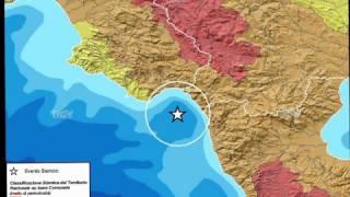 Terremoto: tante scosse nel Golfo di Policastro ma nessun danno