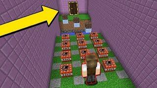 Minecraft: VOCÊ VAI FICAR 24 HORAS TENTANDO SAIR DESSE QUARTO!!!