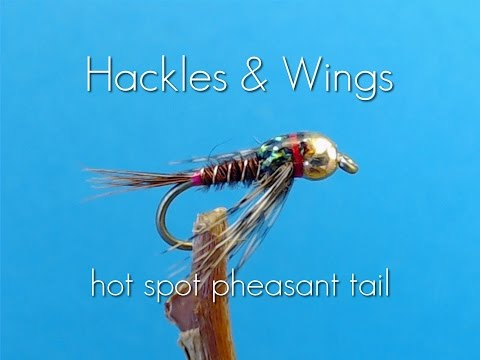 Fly Tying Hot Spot Pheasant Tail