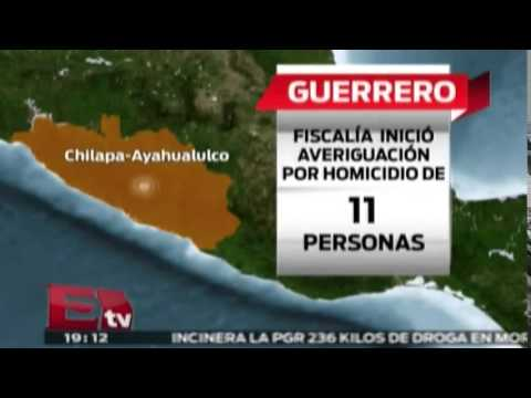 Fiscalía inició averiguación por homicidio en Guerrero / Excélsior Informa