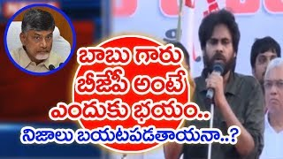 CM Chandrababu Is Scared By Seeing BJP Party!: Pawan Kalyan