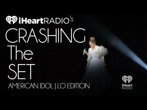 Jennifer Lopez Interview Backstage at American Idol | Crashing the Set