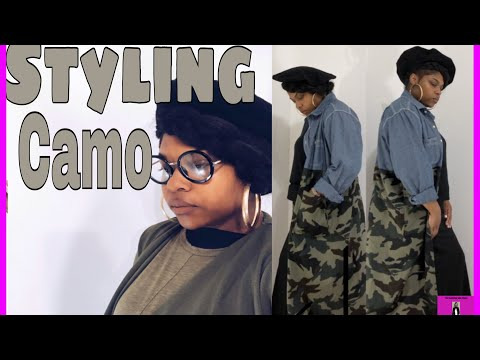 Styling and Re-Styling my closet| Styling Camo| Modest Fashion Designer