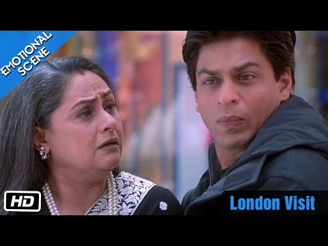 London Visit - Emotional Scene - Kabhi Khushi Kabhie Gham - Shahrukh Khan, Amitabh Bachchan video