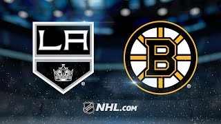 Kings rout Bruins in Lucic's return
