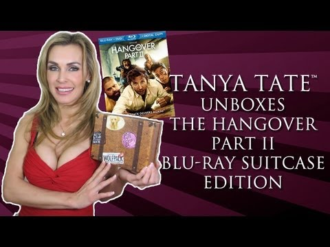 TANYA TATE™: The Hangover Part II Blu-Ray Suitcase Unboxing & Review