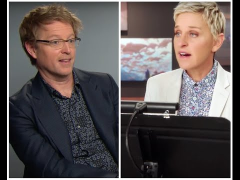 Andrew Stanton In The Studio With Ellen DeGeneres - Bringing Animation To Life In Finding Dory