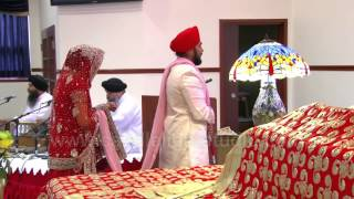 Anand Karaj - Lavaan - Blissful Ceremony - Punjabi Wedding Video