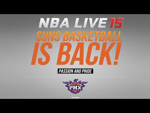 NBA LIVE 15 XBOX ONE - PHOENIX SUNS-  TWITCH GAMEPLAY @EASPORTSNBA ONLINE RANKED MATCH #NBALIVE15