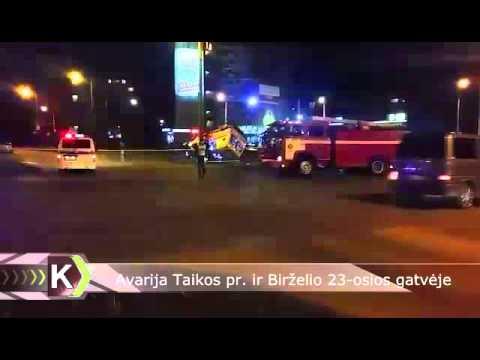 Skaitytojų video: BMW ir greitosios medicinos pagalbos reanimobilio susidūrimas