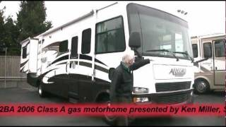*SOLD* Tiffin Allegro Open Road 32BA 2006 Class A gas motorhome -- 30354A