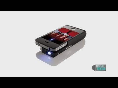 Iphone 4 projector review from brookstone how to save for Pocket projector for iphone 5