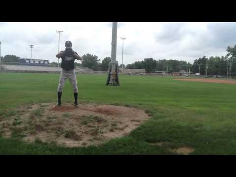 Robbie Bulin 2015 RHP Nekoosa High School, Wisconsin
