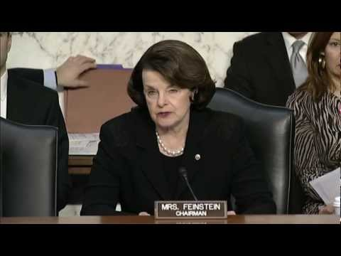Feinstein praises Intel Community, calls for continued vigilance