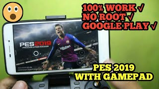 How To Play PES 2019 with Gamepad no root