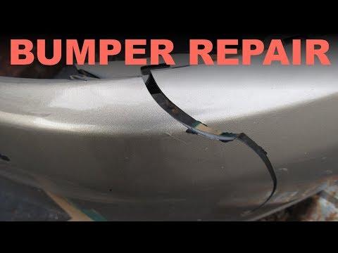 DIY Bumper Crack Repair