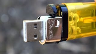 4 Simple Life Hacks with Lighters