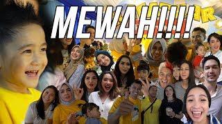 BERTABUR BINTANG DI ULTAH RAFATHAR YANG MEWAH!!!
