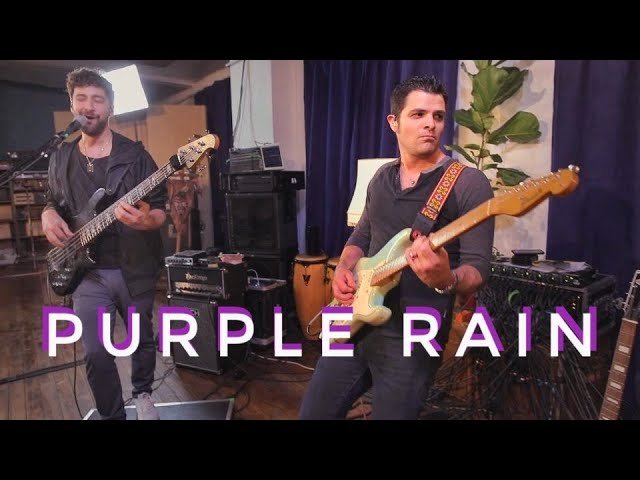 "Martin Miller & Mark Lettieri - ""Purple Rain (Prince)""カバーのスタジオライブ映像を公開 thm Music info Clip"